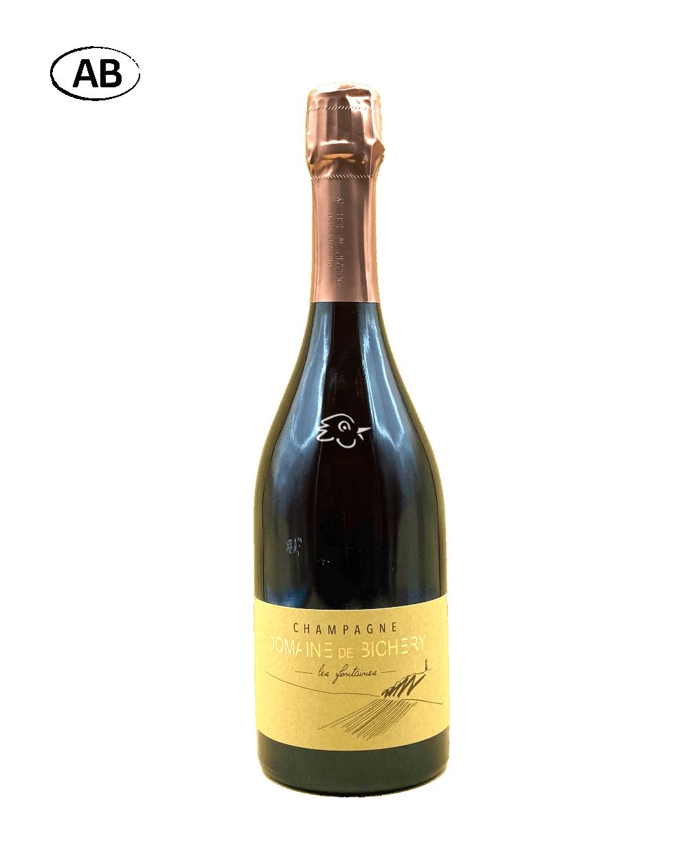 Domaine Champagne de Bichery - Les Fontaines Rosé R17 - Avintures