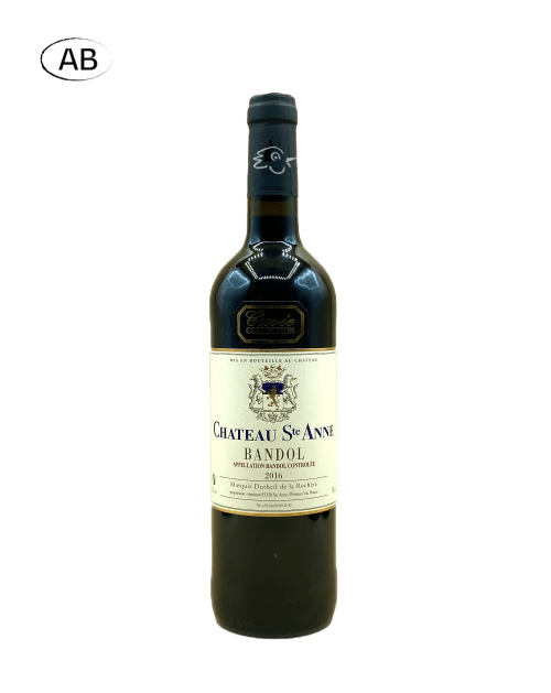 Château Sainte-Anne - Bandol Rouge Collection 2016 - Avintures