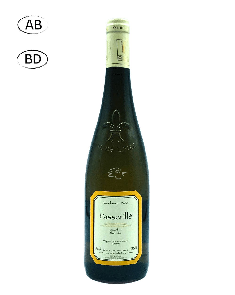 Domaine Delesvaux - Passerillé 2018 - Avintures