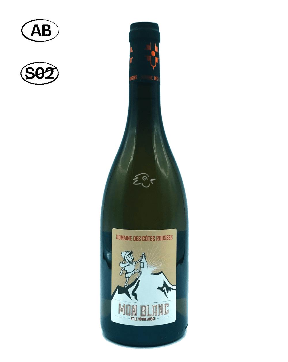 Domaine des Côtes Rousses - Mon Blanc 2019 - Avintures