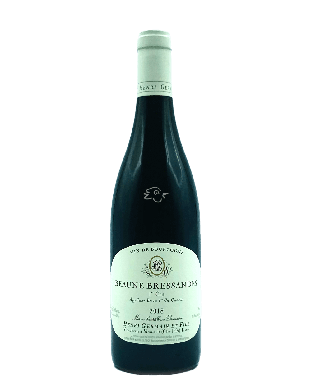Domaine Henri Germain & Fils - Beaune Bressandes 1er Cru 2018 - Avintures