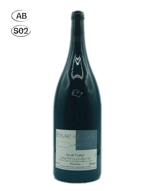 Les Vins Contés - Olivier Lemasson - Poivre & Sel 2020 MAGNUM - Avintures