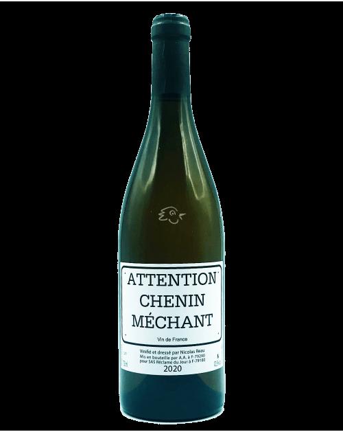 Clos des Treilles - Nicolas Reau - Chenin Méchant 2020 - Avintures