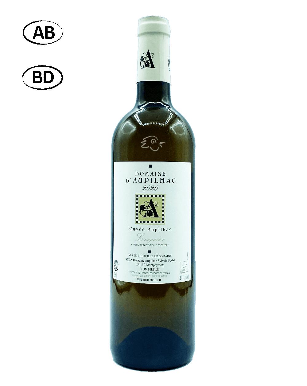 Domaine d'Aupilhac - Aupilhac Blanc - Avintures