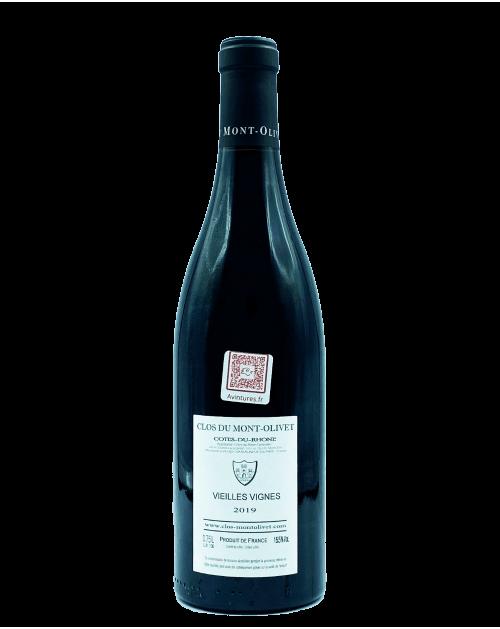 Clos du Mont Olivet - Côtes du Rhône Vieilles Vignes 2019 Rouge- Avintures