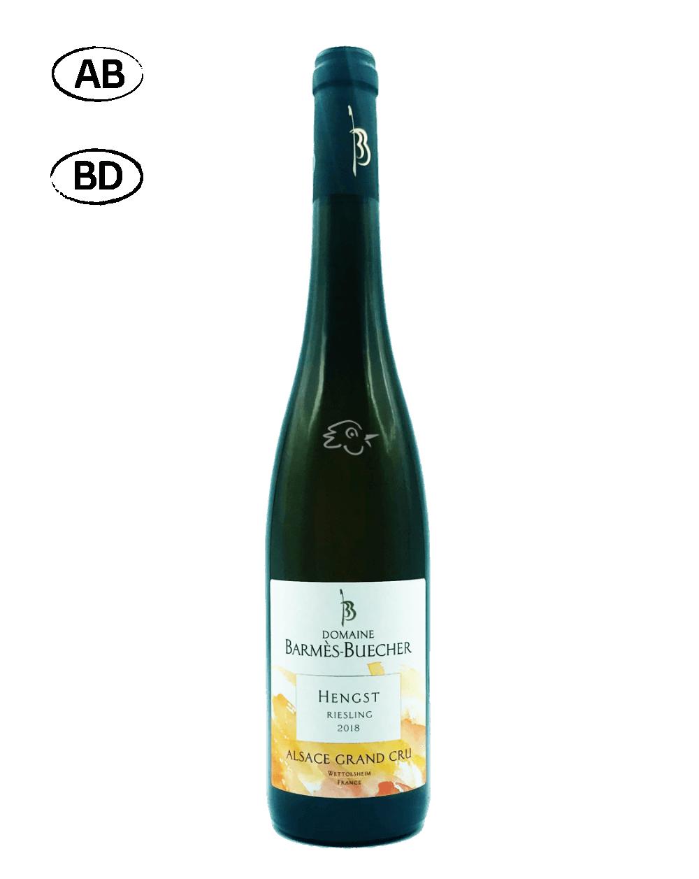 Domaine Barmès - Buecher - Riesling Grand Cru Hengst 2018 - Avintures