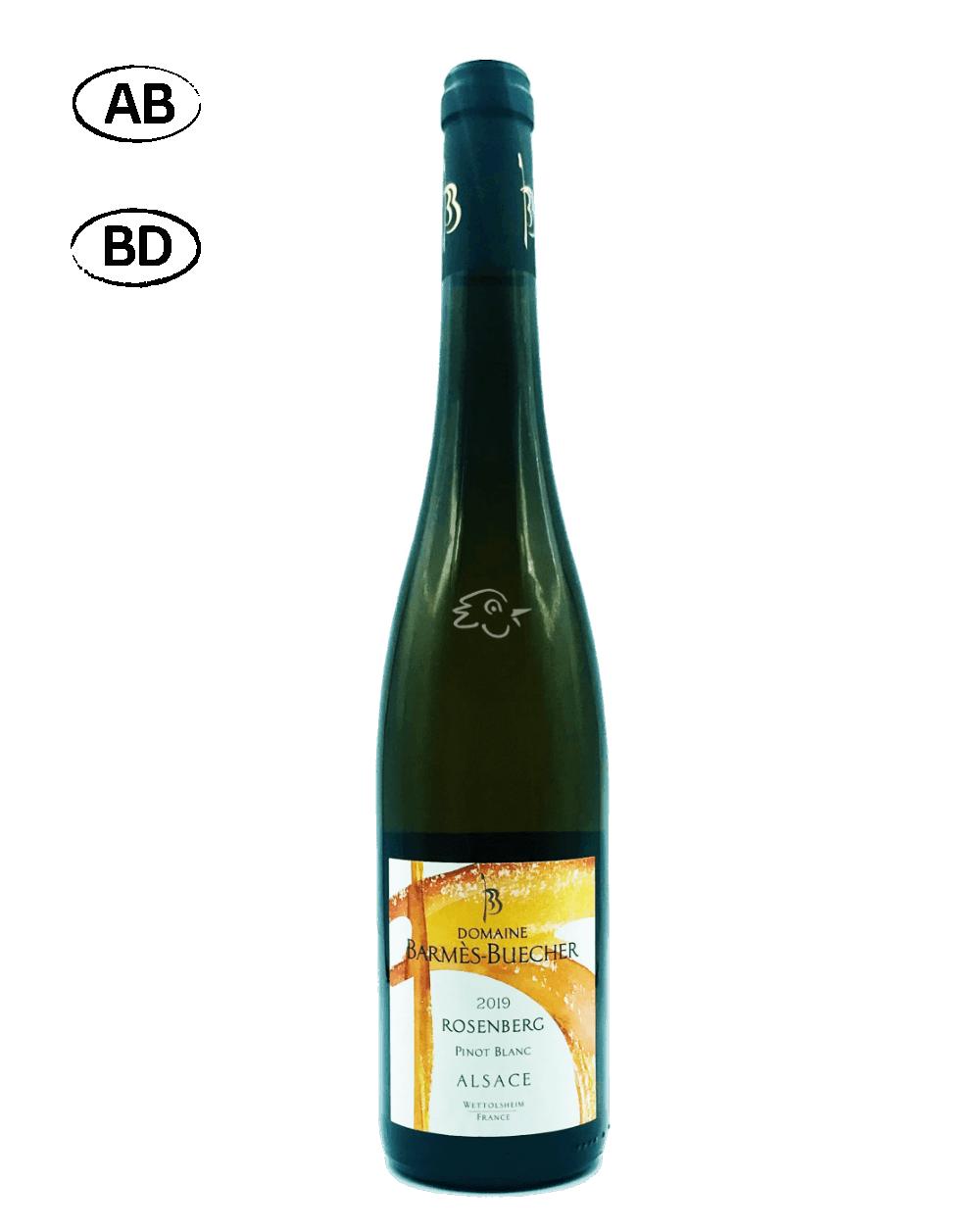 Domaine Barmès Buecher - Pinot Blanc Rosenberg 2018 - Avintures