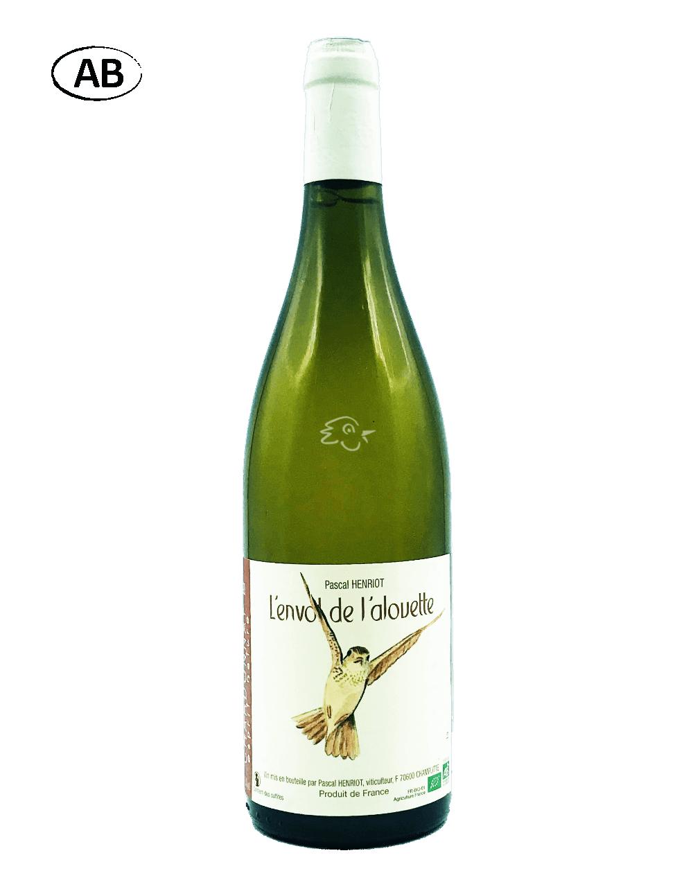 Pascal Henriot - Chardonnay L'Envol de l'Alouette 2020 - Avintures