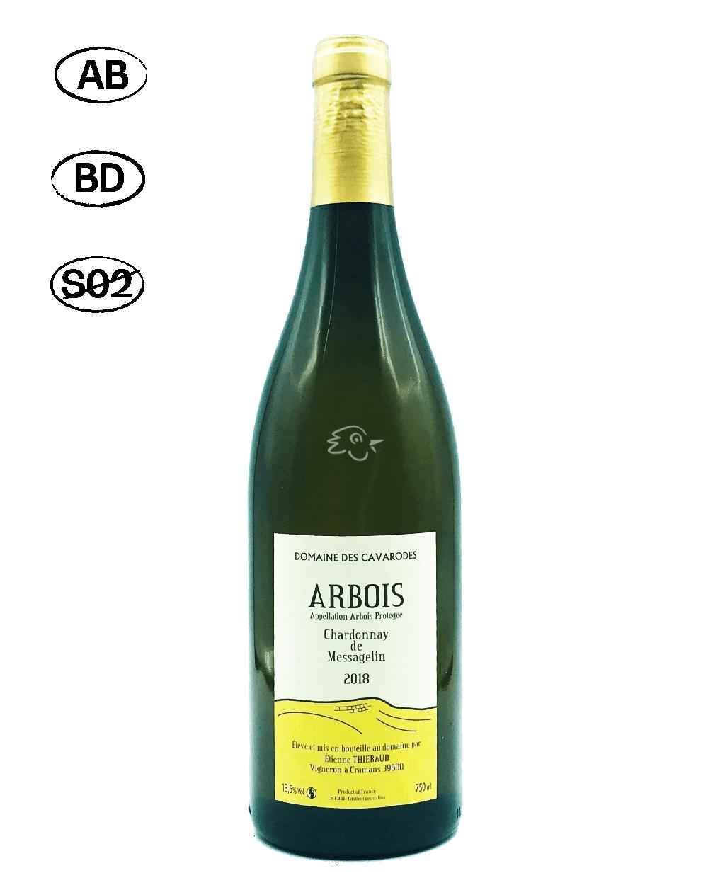 Domaine des Cavarodes - Chardonnay de Messagelin 2018 - Avintures